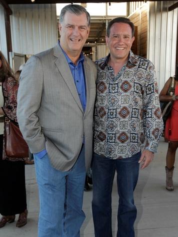 Mayor Mike Rawlings, Rowlett Mayor Todd Gottel, Equest Triple Crown Gala