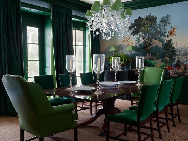 Nancy Braithwaite dining room