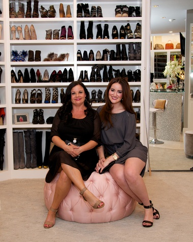 141 Britta Oliverez and Veronica Oliverez at Theresa Roemer first charity closet party November 2014