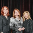 Judy Howell, from left, Joni Baird and Dawn Koenning at the National Philanthropy Day Awards November 2014