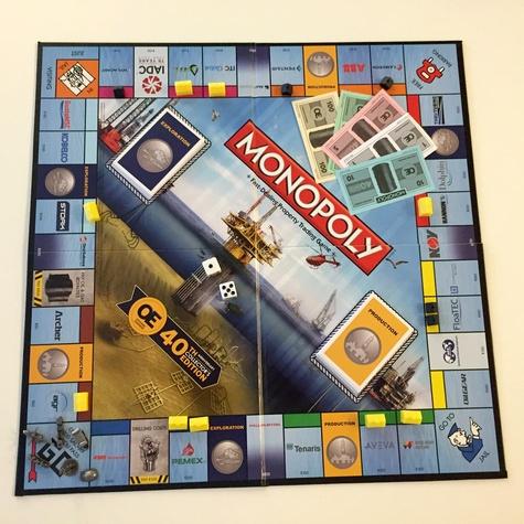 OE Monopoly Game Board