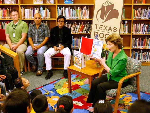 Laura Bush at Texas Book Festival