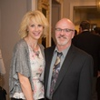 Elizabeth Marshall Black and James Black at the Alley Artist Dinner November 2014