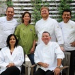 Beacon Fundraiser, October 2012, Dominic Juarez, Claire Smith, Randy Evans, Hugo Ortego, in front, Anita Jaisinghani, John Sheely