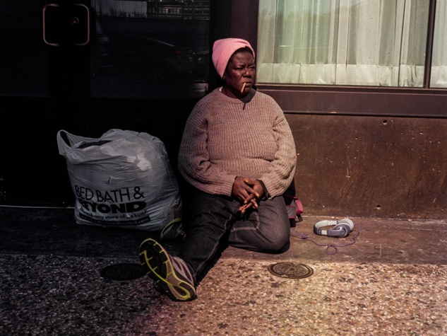 Homeless Woman from Observe Dallas
