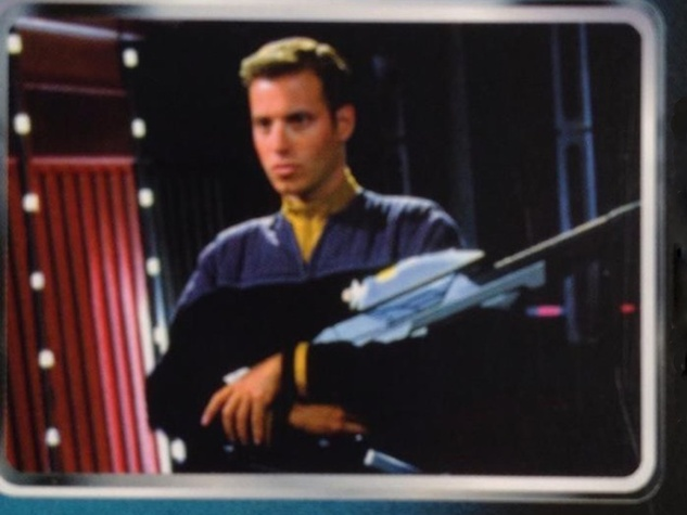 Shepard Ross Star Trek trading card HORIZONTAL