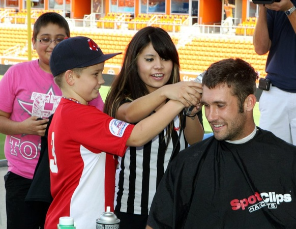 Will Bruin Dynamo head shave