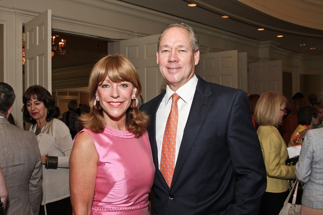 Center for Contemporary Craft luncheon May 2013 Franci Crane and Jim Crane