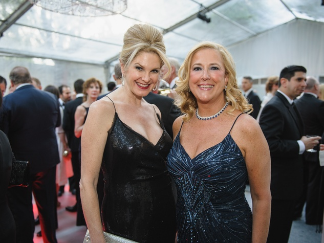 Tonya Foster, Gina Betts at Art Ball 2014