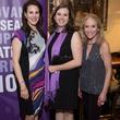 Rachel Trowbridge, Brittany Livingston, Cindy Birne, Purple Stride Kick off