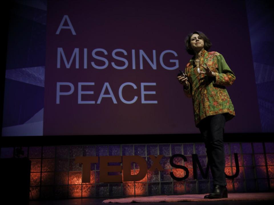 TEDxSMU speaker Afshan Khan