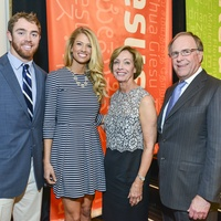Colt and Rachel McCoy, from left, and Doris and Terry Looper