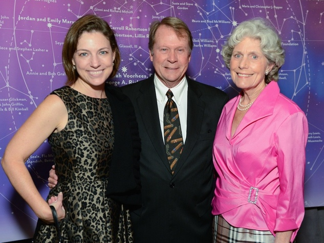 Cullen Geiselman, Steave Pearce, Beth Robertson at UTHealth Constellation Gala