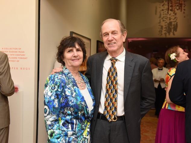 Blaffer Art Museum Flora Obscura Gala Leslie and Brad Bucher