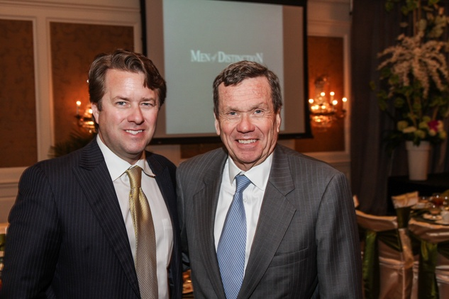 29 Michael Mithoff, left, and Richard Mithoff at the Men of Distinction luncheon May 2014