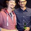 Moniker Guitars Texas BBQ Party December 2014 - Aaron Berkowitz - Danny Witte