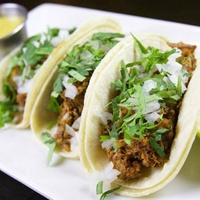 Braised pork tacos at So & So's