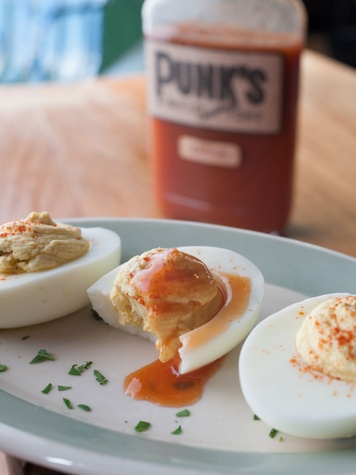 Punk's Simple Southern Food deviled eggs March 2014