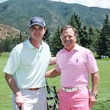 Ross Canion, left, and David Dominy Houston Methodist in Aspen July 2014