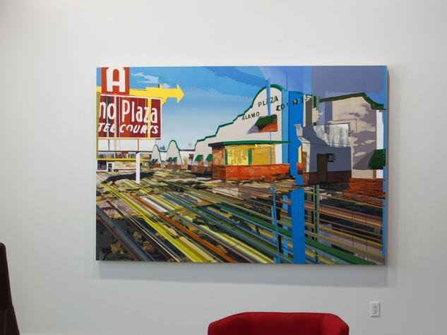 Kim Cadmus Owens artwork at 2100 Ross Avenue