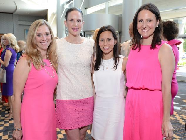 News, Shelby, Children's Assessment Center luncheon, May 2015, Crickett DeWalch, Kathleen Zinn, Claudine Hartland, Kate Stukenburg