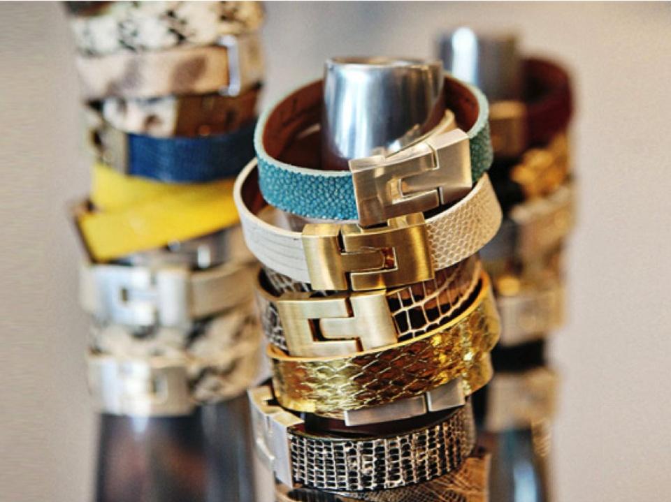 Leighelena cuff bracelets