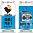 Four Corners Brewing Block Party cans