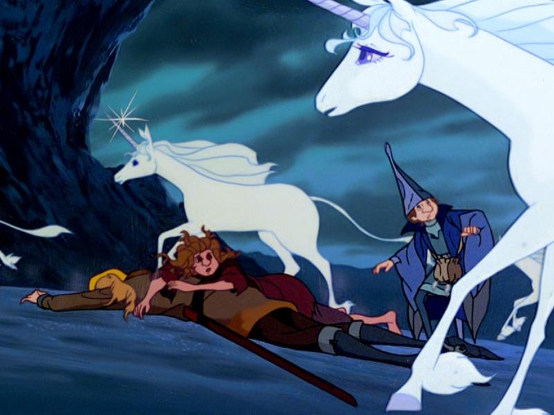 The last unicorn movie free