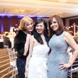 310 Cindi Rose, from left, Connie Kwan-Wang and Hiru Mac at the KNOWAutism Gala February 2015