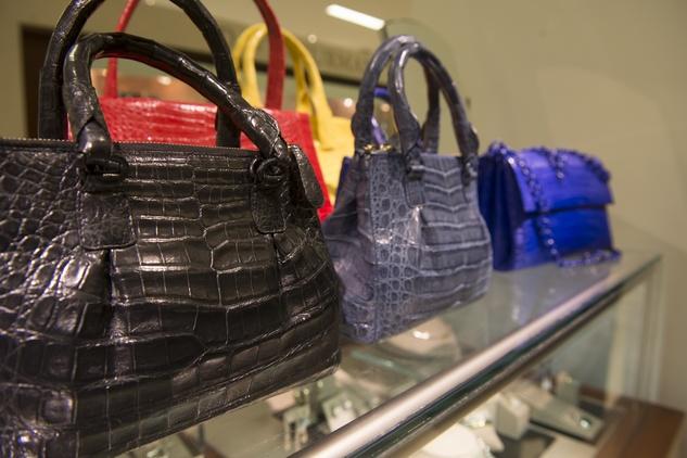 More bags at Nancy Gonzalez at Saks Fifth Avenue November 2014