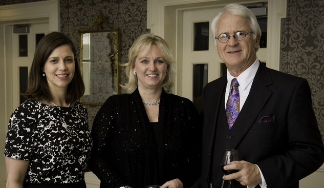 15 Meredith Clark, from left, Sherrie Evans and Ike Vanden Eykel at the Houston Bar Association Harvest Celebration November 2014