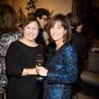 33 Mary Jones, left, and Elly Berman at the Valobra Pin Oak holiday party December 2014