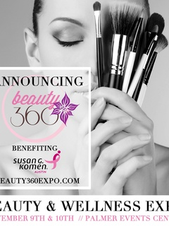 poster for Beauty360 expo from Austin Beauty Guide