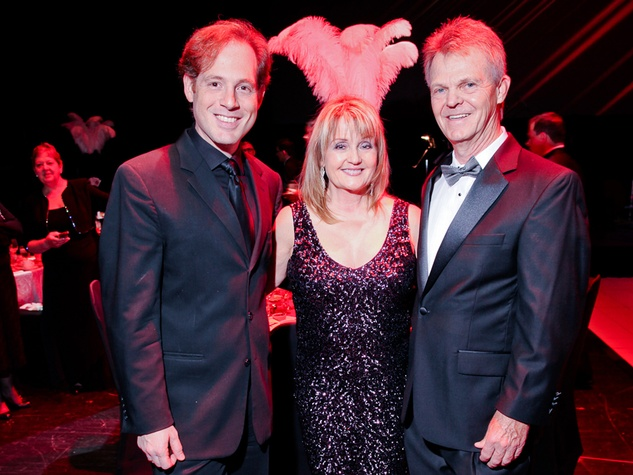 13 Andres Gonzalez, from left, with Jan and Greg Davis at the Mercury Baroque Gala March 2014