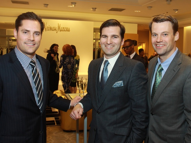 41 Jay Fields, from left, Pat Burke and Jason Stabell at Best Dressed January 2014