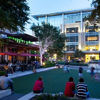 CityCentre, Ruggles Green, plaza