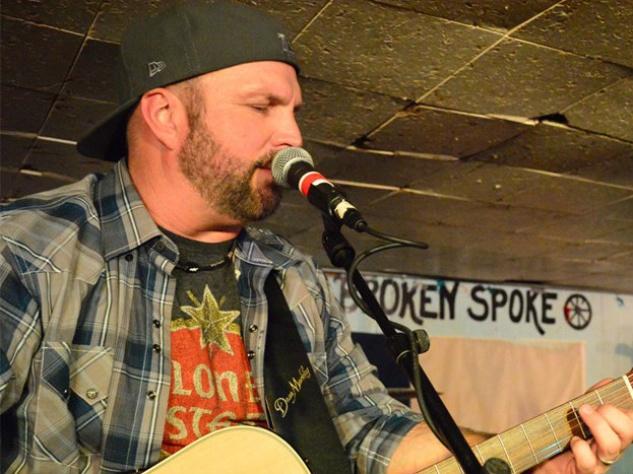 Garth Brooks plays at the Broken Spoke in Austin