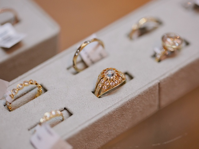 BHLDN ILA engagement event, rings