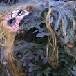 8 Monster mask in wouldn't you know . . . witch hazel…Katie Oxford Haunted House November 2014