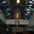 5 Wooster's Garden in Midtown December 2014 light fixtures and ceiling