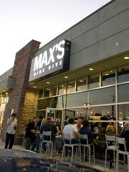 Places-Food-Max's Wine Dive exterior