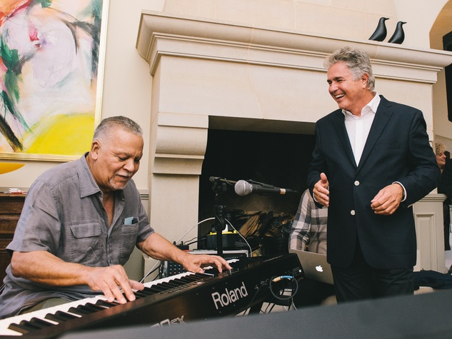 18 Steve Tyrell CD launch party June 2013 Joe Sample, Steve Tyrell