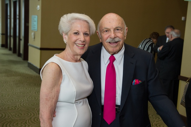 13 Lorraine and Ed Wulfe at the Holocaust Museum Moral Courage Award dinner June 2014