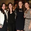 Anita Taleghani, Christina Piasta, Justine Sterling and Mary Crain, foodiepalooza