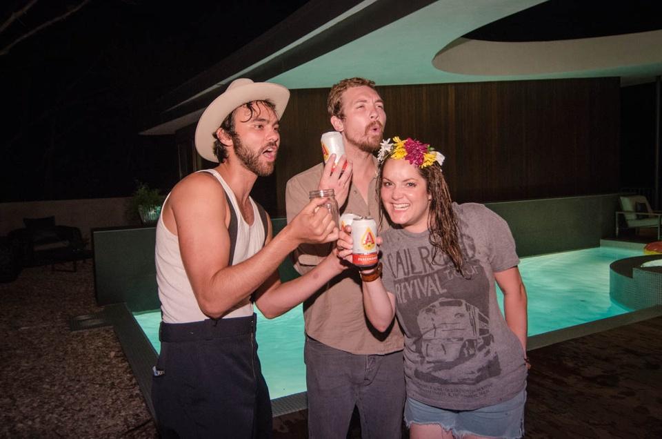 Happy Hemp BBQ  Shakey Graves, Josh Verduczco and Jessica Peel