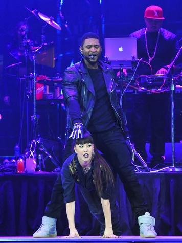 Usher riding