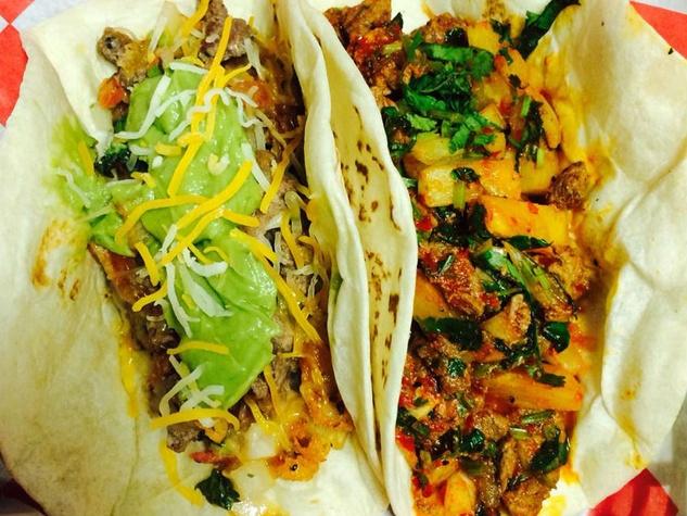 Super Burrito tacos