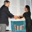 Brit Hume and Condoleezza Rice at the Houston Living Legend fundraiser dinner May 2014