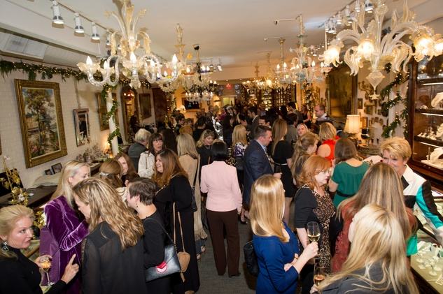 38 The crowd at the Valobra Pin Oak holiday party December 2014