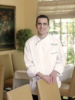 Pastry chef Nicolas Blouin of Rosewood Mansion on Turtle Creek